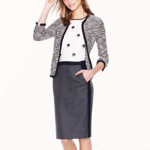 J. Crew • No. 2 Wool Pencil Skirt